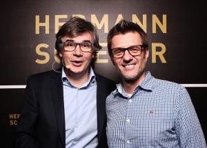 mit Hermann Scherer